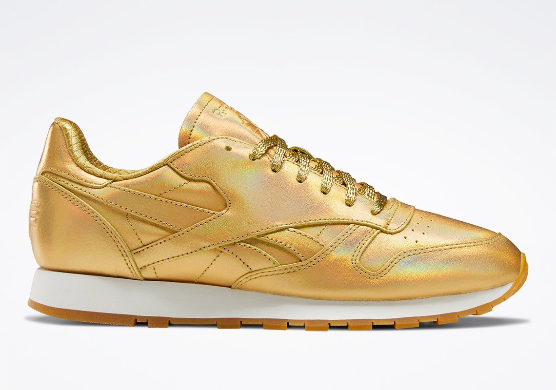 Reebok x Wonder Woman 1984 collection launches with gold classic leather shoes 21