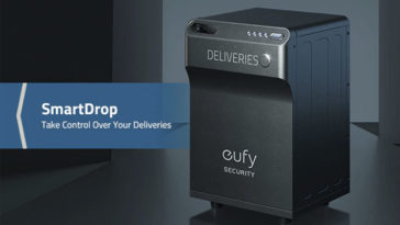 Eufy SmartDrop is a smart package lock box with a built-in camera 23