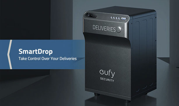 Eufy SmartDrop is a smart package lock box with a built-in camera 12