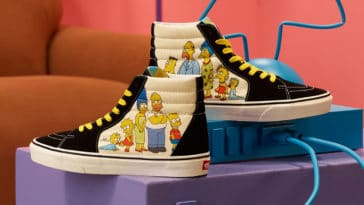 Vans celebrates The Simpsons' 30th anniversary with a new shoe collection 24