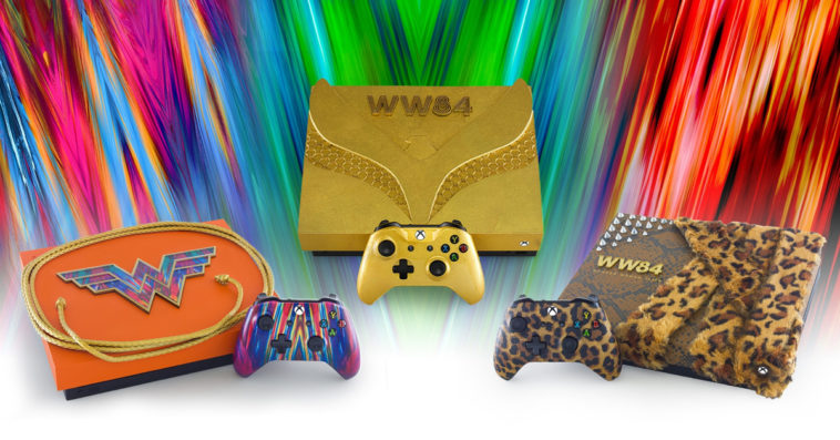 Here's how you can win a Wonder Woman 1984 Xbox One X console 13