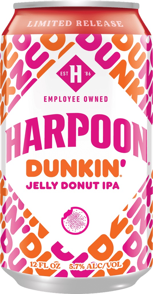 Dunkin' and Harpoon Brewery are releasing donut-infused beers this fall 15