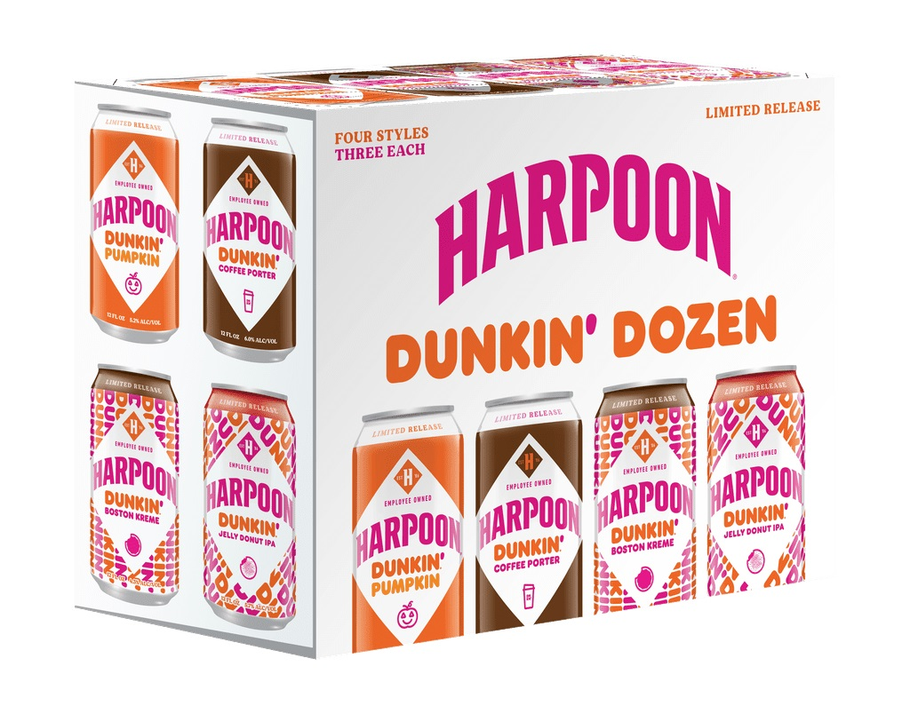 Dunkin' and Harpoon Brewery are releasing donut-infused beers this fall 19