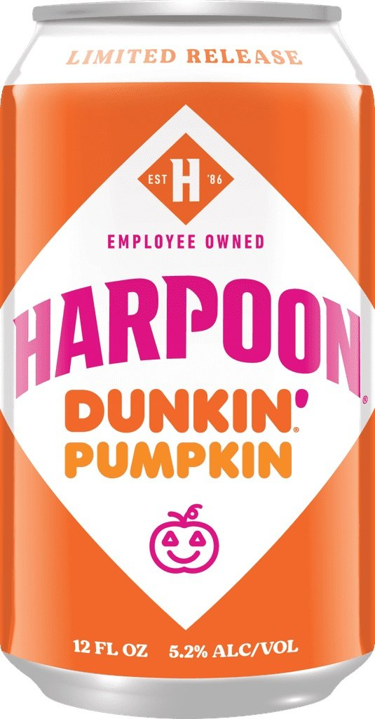 Dunkin' and Harpoon Brewery are releasing donut-infused beers this fall 16