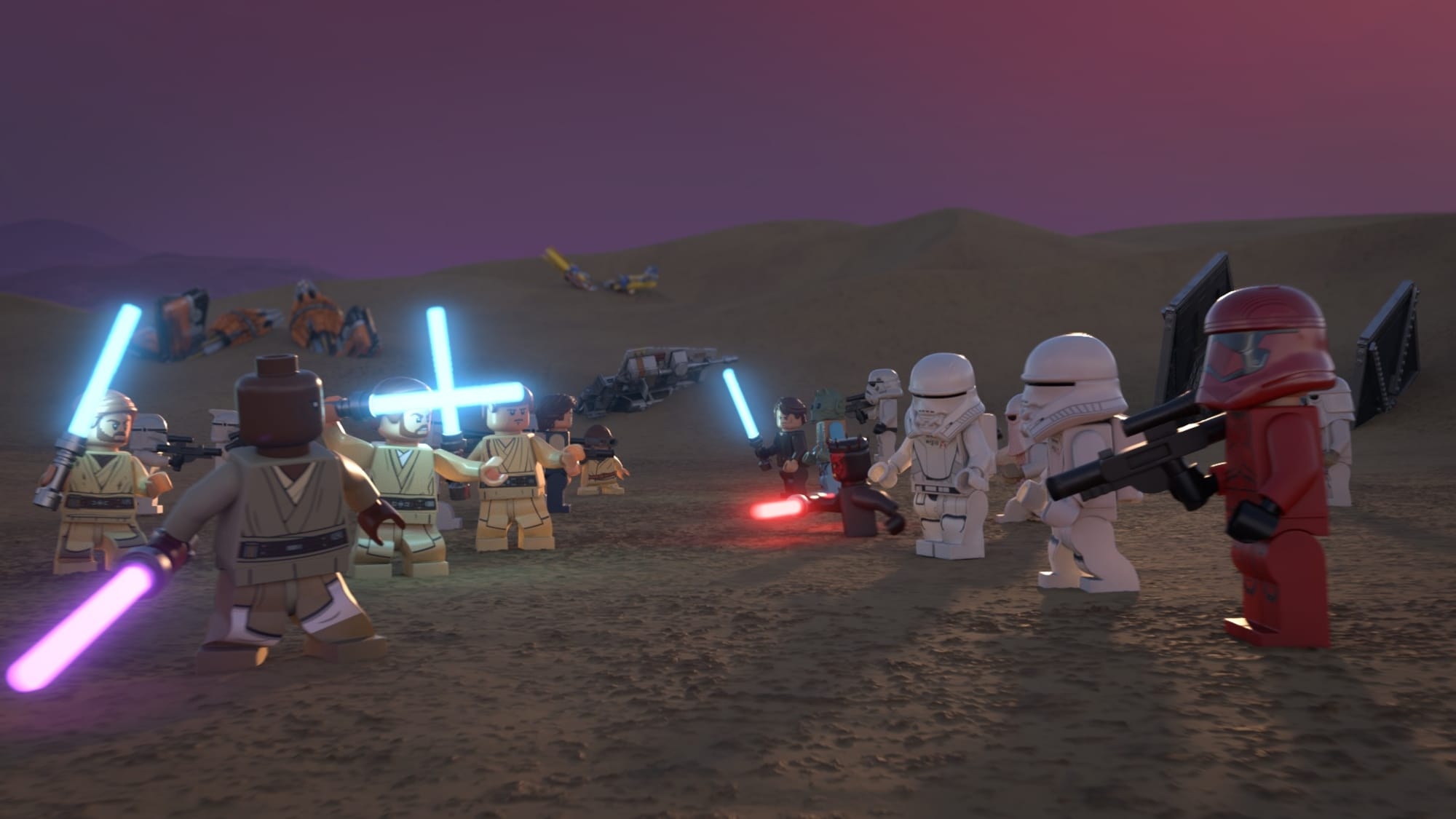 The LEGO Star Wars Holiday Special is coming to Disney+ on Life Day 14
