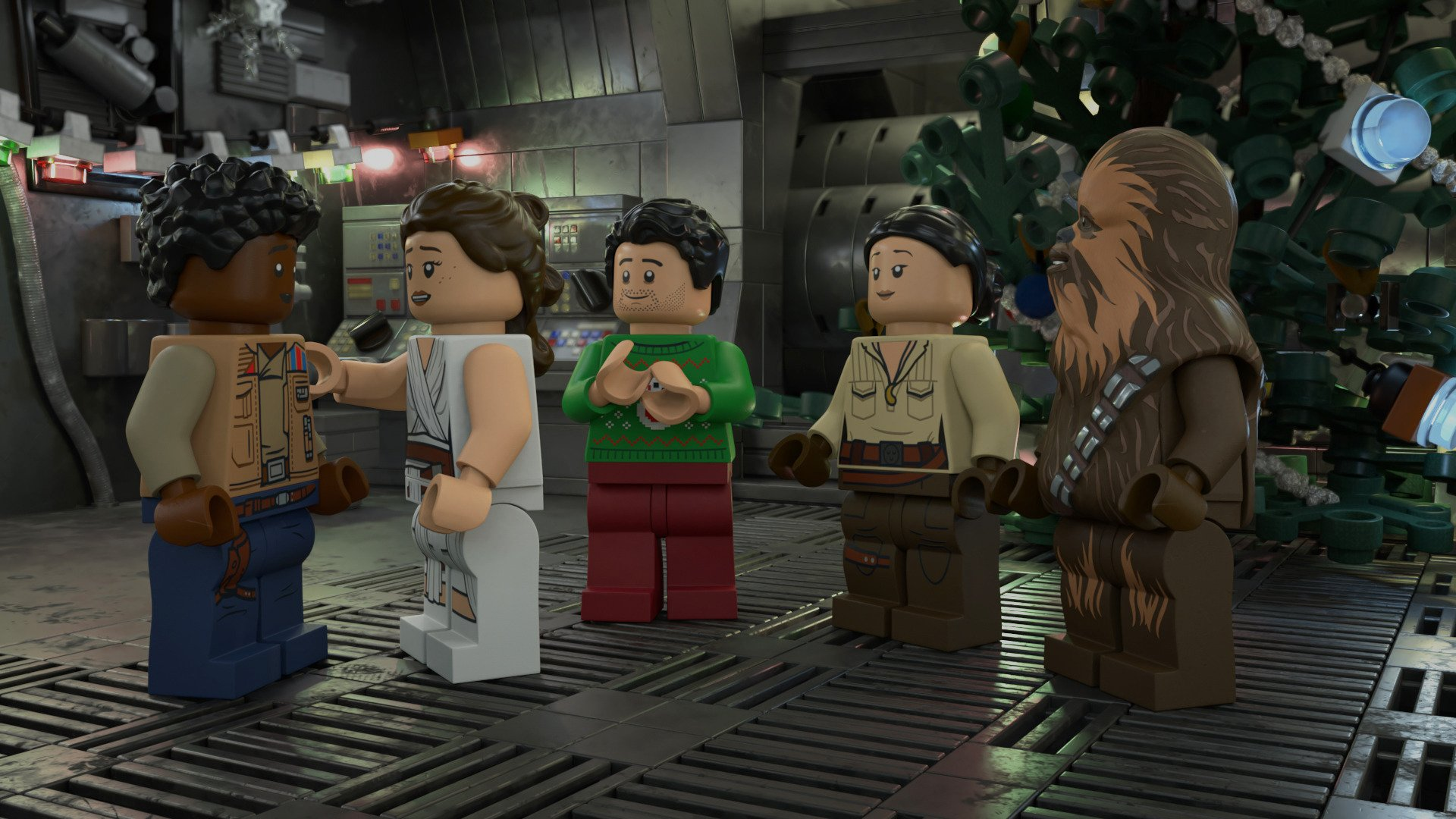 The LEGO Star Wars Holiday Special is coming to Disney+ on Life Day 16