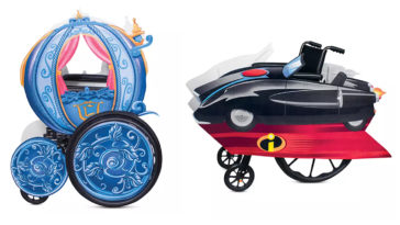 shopDisney's adaptive roleplay transforms fans with wheelchairs into Disney characters 11