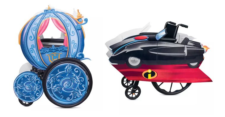 shopDisney's adaptive roleplay transforms fans with wheelchairs into Disney characters 12
