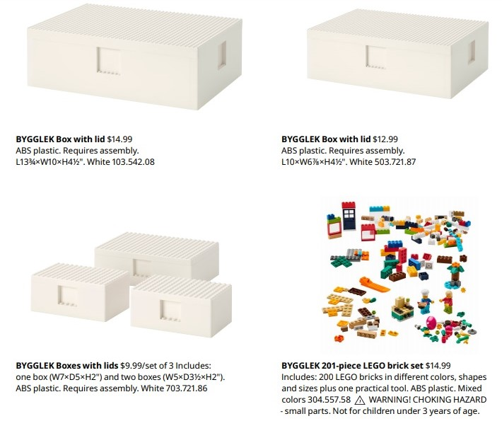 IKEA partners with LEGO for unique storage boxes that double as play structures 14