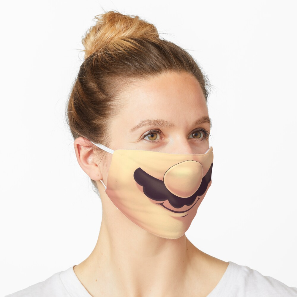 This Super Mario face mask will make people smile back at you 15