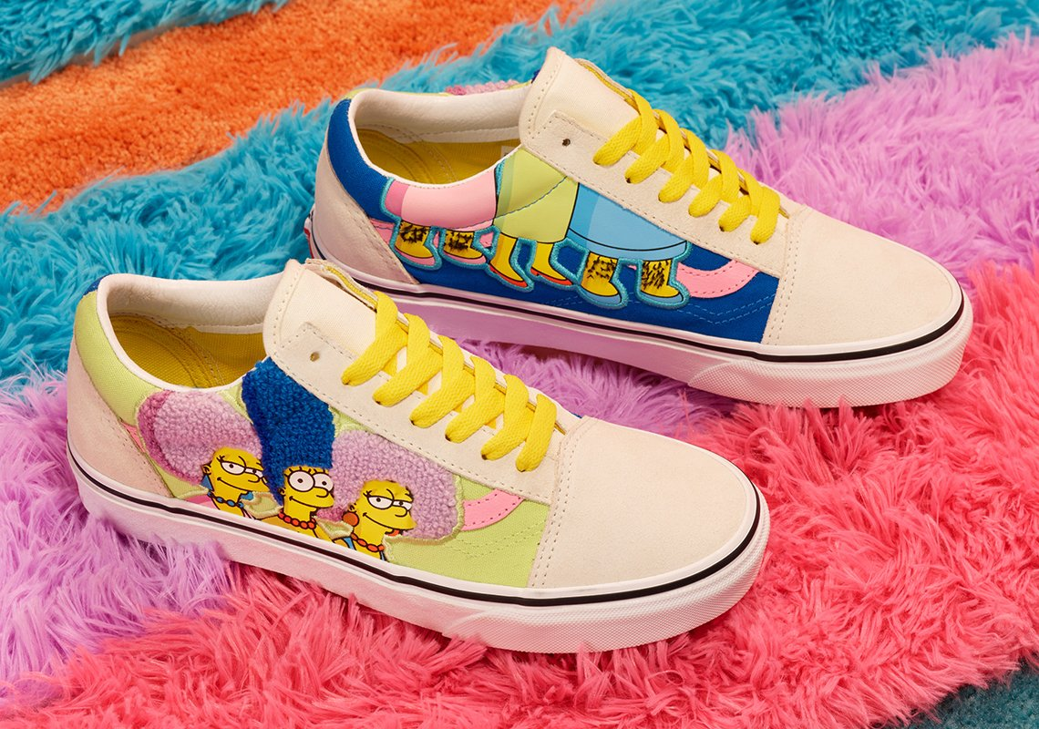 Vans celebrates The Simpsons' 30th anniversary with a new shoe collection 20