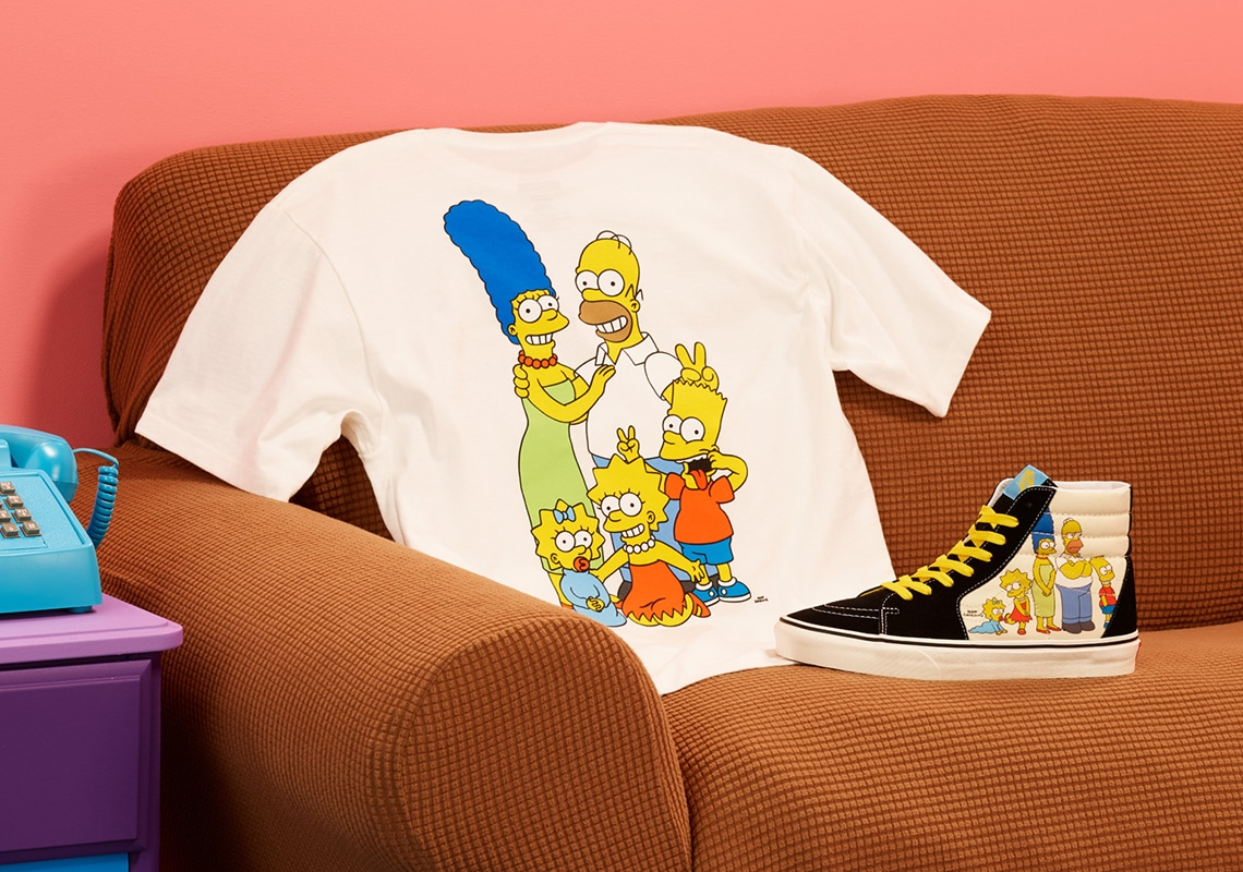 Vans celebrates The Simpsons' 30th anniversary with a new shoe collection 16