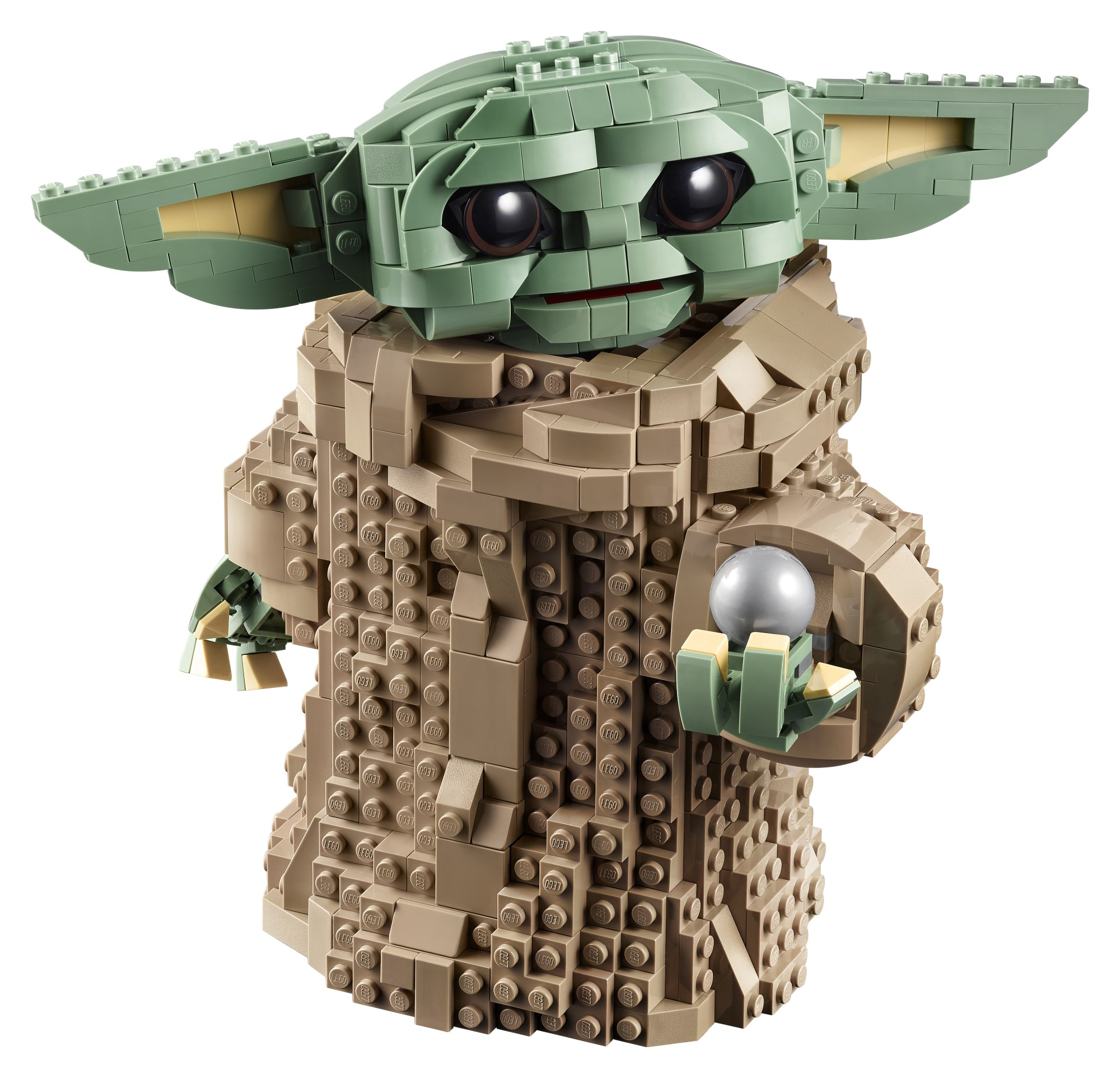 This adorable Baby Yoda LEGO model is now available for pre-order 14