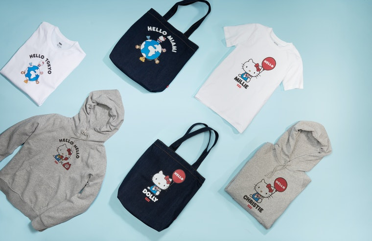 Levi's just dropped a new Hello Kitty collection and it includes face masks 23