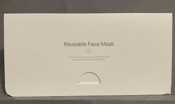 Apple made its own face mask complete with packaging 12