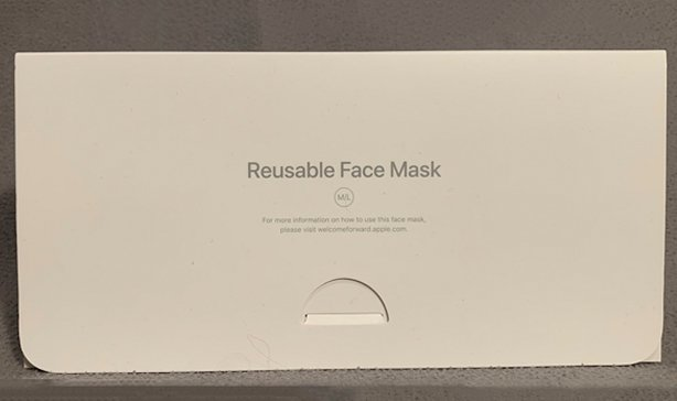 Apple made its own face mask complete with packaging 11