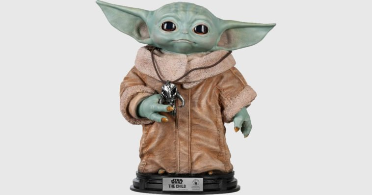 Baby Yoda life-size statue is now available 13