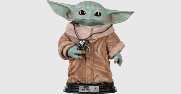 Baby Yoda life-size statue is now available 10