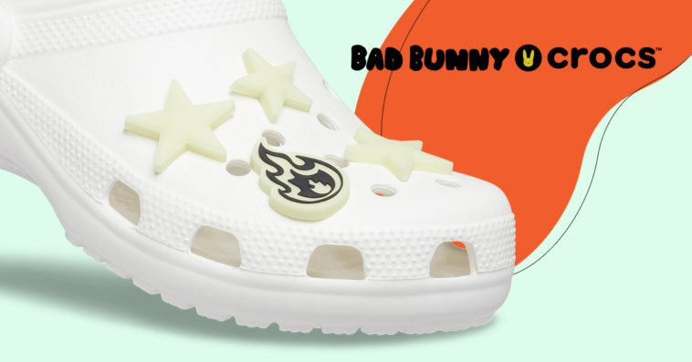 Bad Bunny's glow-in-the-dark Crocs sold out in less than 30 minutes 20