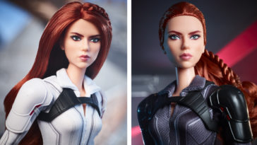 Black Widow gets her own Barbie doll 13