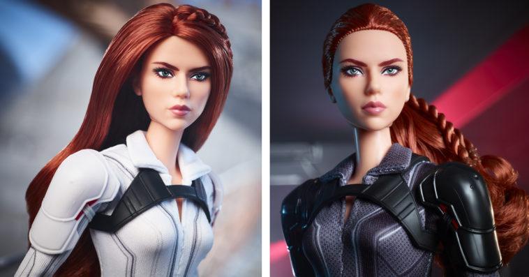 Black Widow gets her own Barbie doll 20