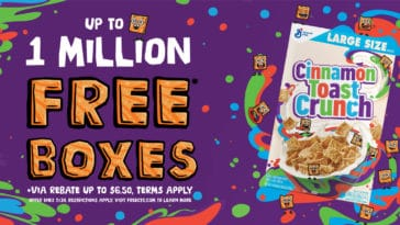 Cinnamon Toast Crunch is giving away 1 million boxes for free ― here's how to get one 13