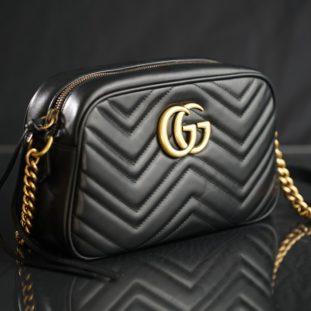 Classic Leather Shoulder Bag 60