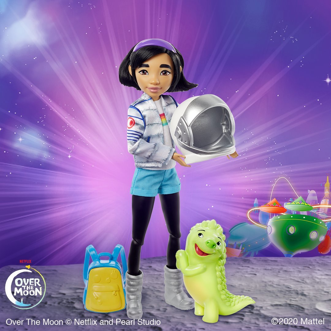 Netflix's Over the Moon is getting a doll and plush line from Mattel 16