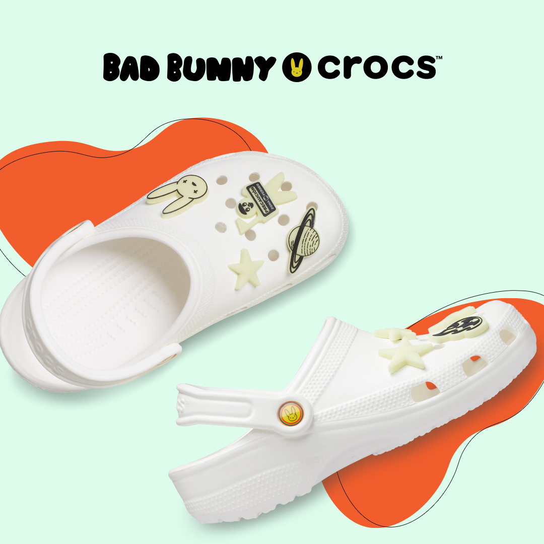Bad Bunny's glow-in-the-dark Crocs sold out in less than 30 minutes 21