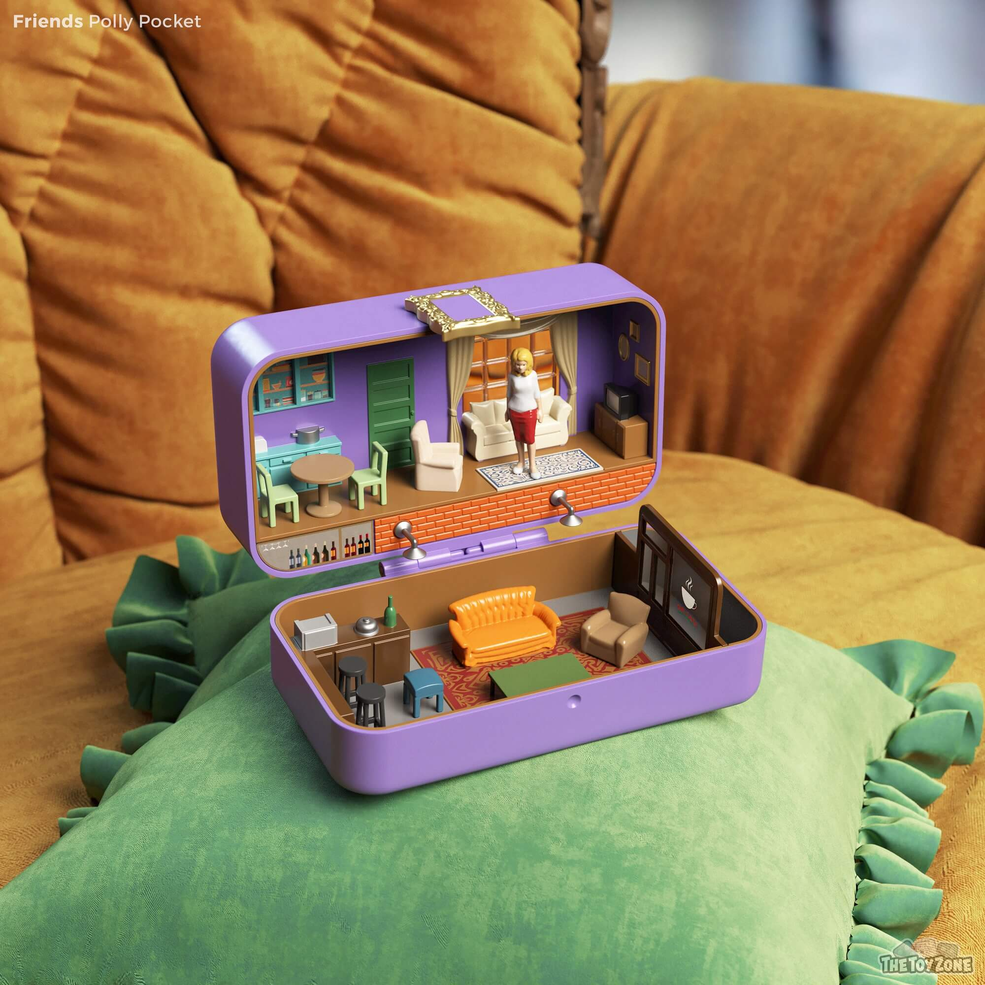 The Simpsons, Friends, and Stranger Things get transformed into Polly Pockets 18