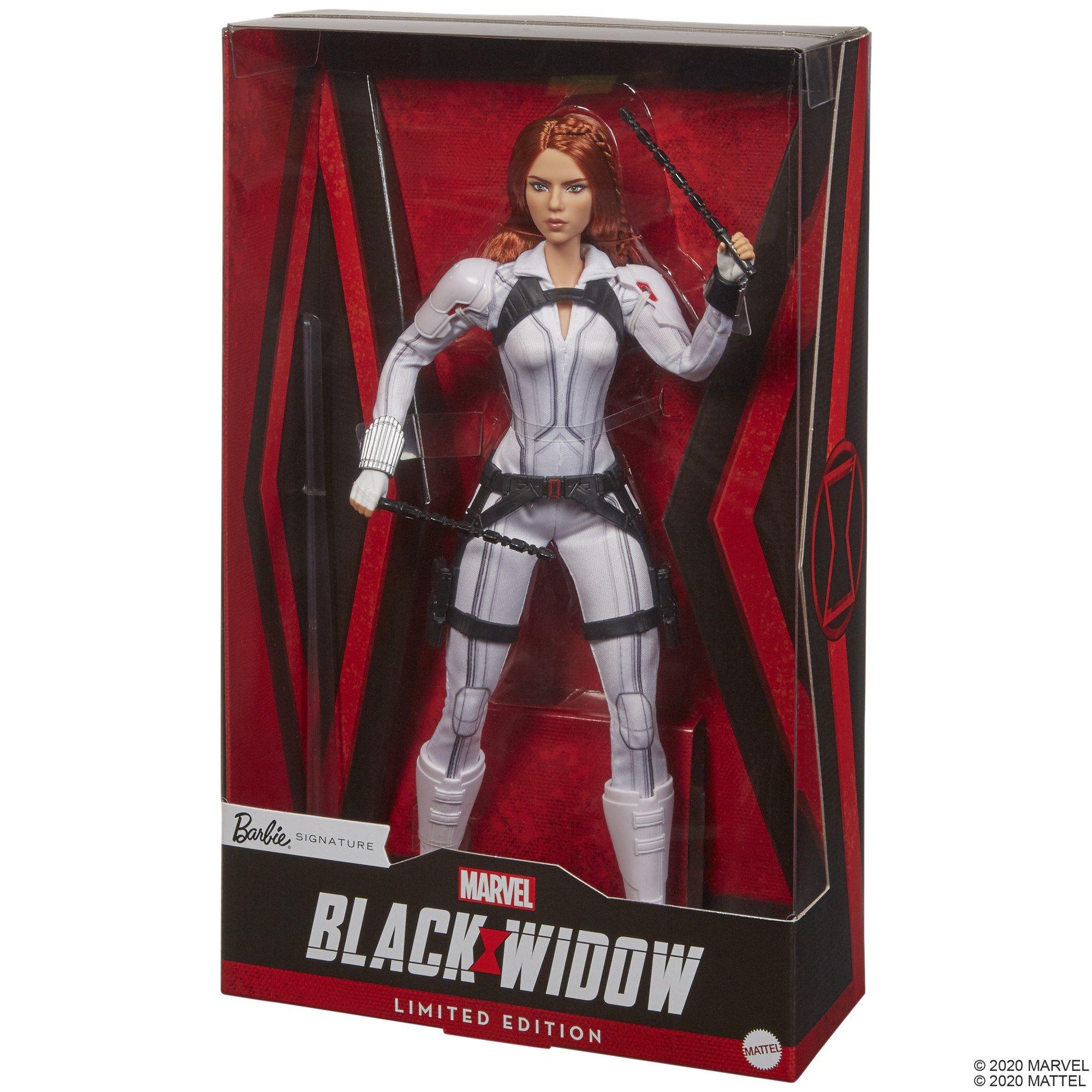 Black Widow gets her own Barbie doll 23