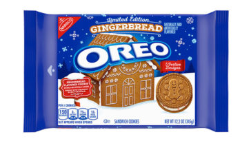 Gingerbread Oreos are here and they're getting us in the holiday spirit early 14