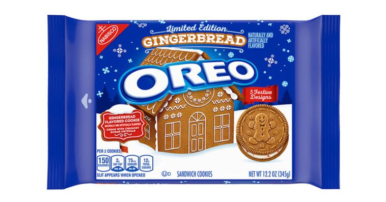 Gingerbread Oreos are here and they're getting us in the holiday spirit early 11