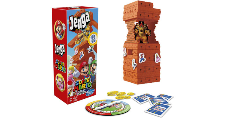 Jenga Super Mario offers a unique spin on the classic block-stacking game 12