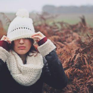 Knit Winter Hat 44