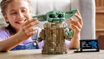 This adorable Baby Yoda LEGO model is now available for pre-order 12