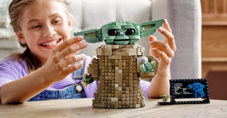 This adorable Baby Yoda LEGO model is now available for pre-order 13