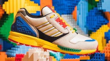 LEGO gives Adidas ZX8000 sneakers a playful update 13
