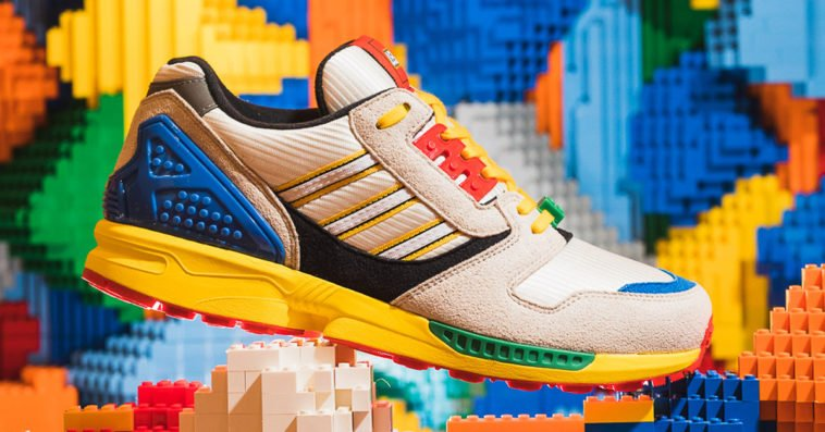 LEGO gives Adidas ZX8000 sneakers a playful update 20