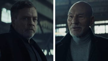 Star Wars' Mark Hamill and Star Trek's Patrick Stewart face off in an Uber Eats commercial 16
