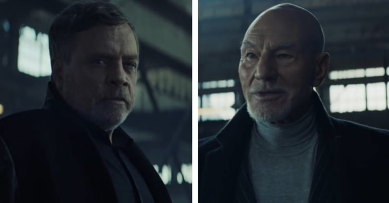 Star Wars' Mark Hamill and Star Trek's Patrick Stewart face off in an Uber Eats commercial 13