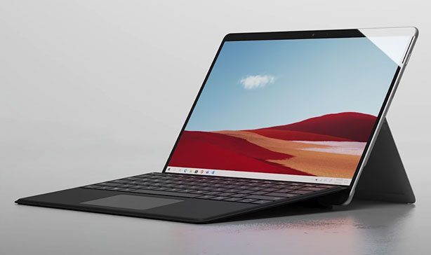 The Microsoft Surface Laptop Go costs just under $600 14