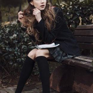 Parisian School Girl Flair 25