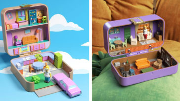 The Simpsons, Friends, and Stranger Things get transformed into Polly Pockets 27
