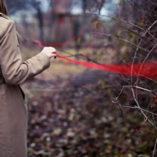 Red Thread of Fate (The invisible red thread that connects soulmates) 39