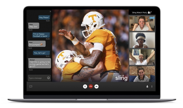 SLING TV now has a watch party feature 13