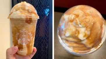 Starbucks funnel cake Frappuccino will satisfy your cravings for fair food 15
