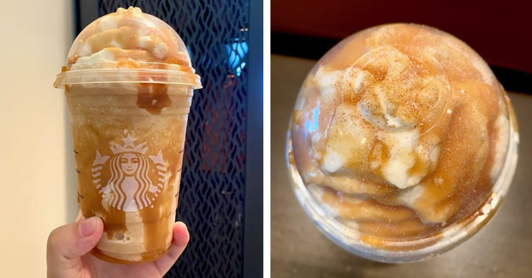 Starbucks funnel cake Frappuccino will satisfy your cravings for fair food 12