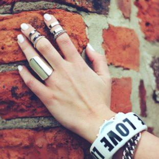 Statement bracelet bunch 40