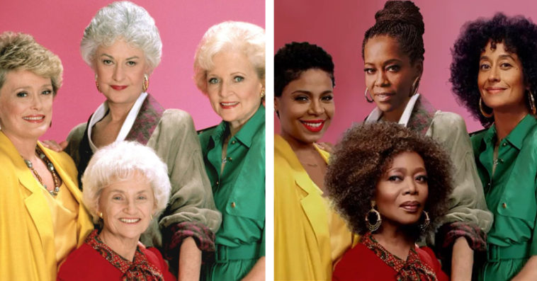 The Golden Girls will be reimagined with an all-black cast for a Zoom special 20
